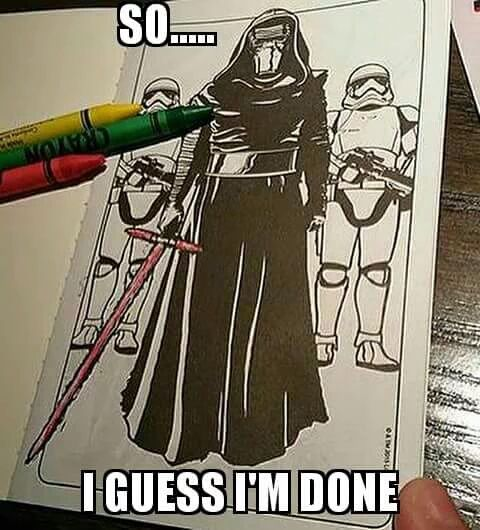 Worst coloring book in the galaxy