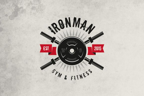 Gym & Fitness Logo by sgc design on Creative Market