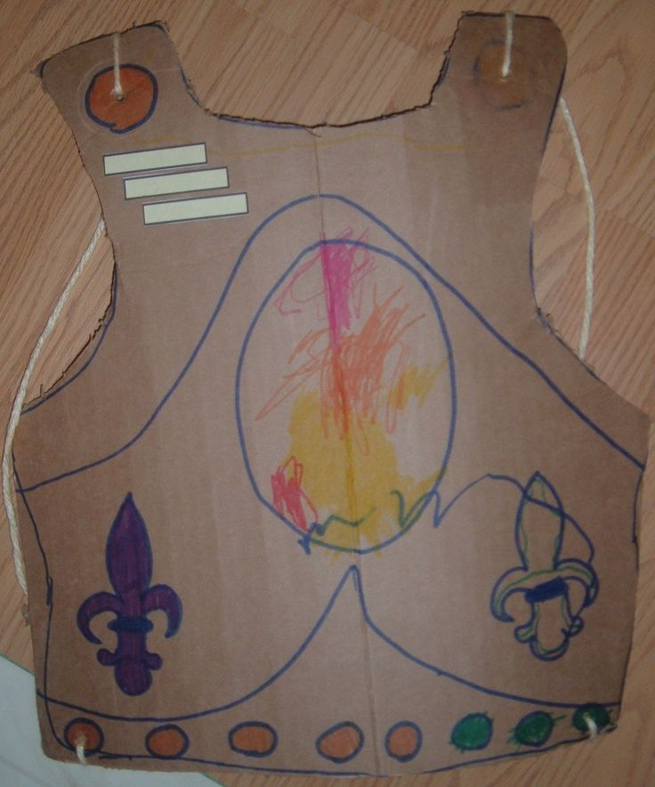 Breastplate Of Righteousness Craft For Kids