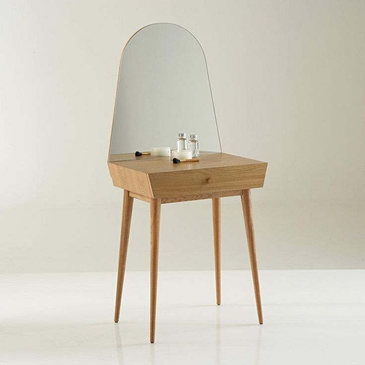 Une petite coiffeuse moderne style scandinave