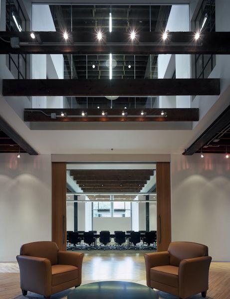 HNI Gunlocke Headquarters. Workplace Design: Gensler