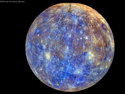 NASA video gives unprecedented view of Mercury's surface #Space #Mercury