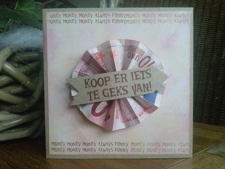 Bekijk de foto van wendyvt met als titel Hartstikke leuk om geld op een kaart te geven!  en andere inspirerende plaatjes op Welke.nl.