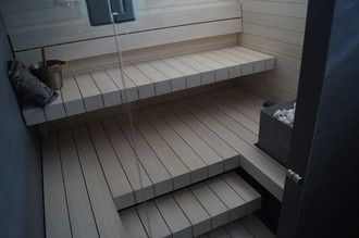 ALFA Art- laudepaketti | Simple modern sauna bench