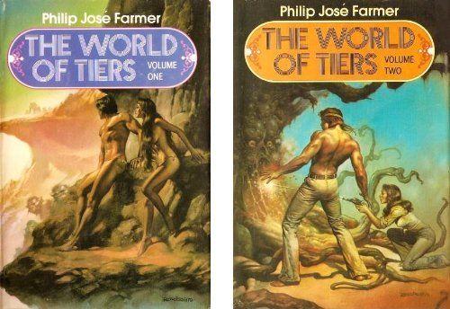 The World of Tiers, Vol. 1 and Vol. 2 by Philip José Farmer http://www.amazon.com/dp/B001BAEZK4/ref=cm_sw_r_pi_dp_tbfXub1CBGPMP