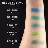 Freedom Makeup Green Eyeshadow Swatches