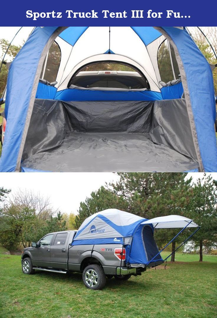 Sportz Truck Tent III for Full Size Crew Cab Trucks (For Nissan Titan Model). Why camp in an ordinary ground tent or an expensive RV, when you can camp right in the back of your truck. The Sportz Truck Tent assembles in the back of your open-bed pickup, creating a comfortable, restful sleeping area for two people. With seven models to fit almost every truck on the market, itÕs no wonder why the Sportz Truck Tent is the market leader. Discover how a Sportz Truck Tent adds convenience and...