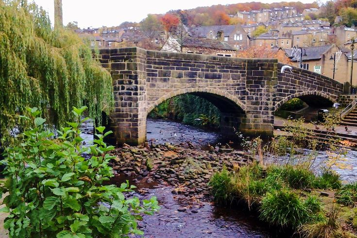 Taken in November 2014 the bridge crossers Hebden Water in the centre of Hebden Bride, West Yorkshire. More of my pictures and information can be seen at, www.colingreenphotography.blogspot.co.uk