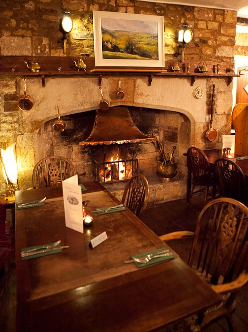 Every good country pub needs a good fireplace                                                                                                                                                                                 More