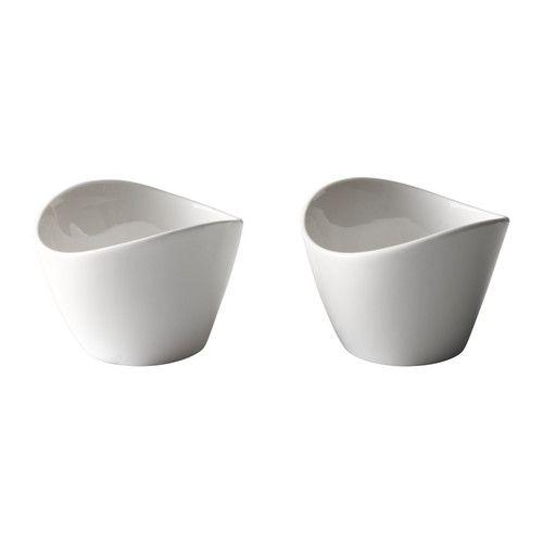 901.767.78 - SKYN Fuente IKEA Porcelana fina, ligera y al mismo tiempo resistente y duradera - € 5,99/2 unidades