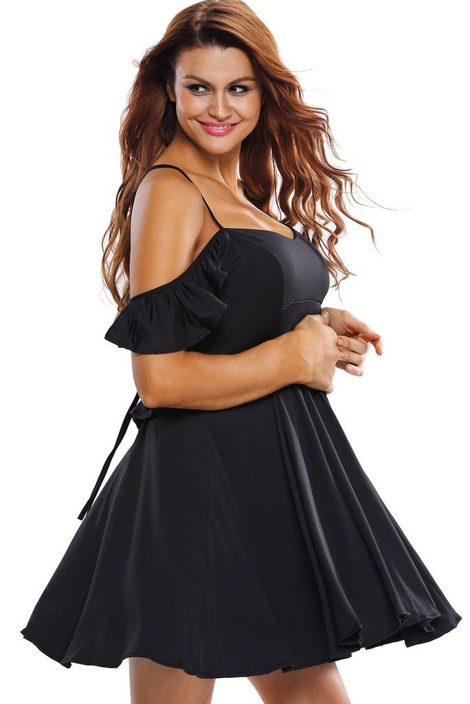 Robes Patineuses Doux Sexy Noir Robe Backless