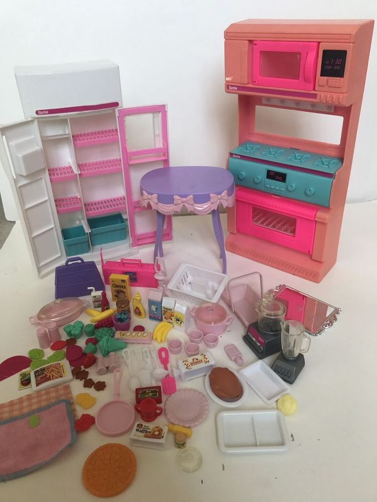 Vintage Barbie So Much To Do Kitchen Playset Food Stove