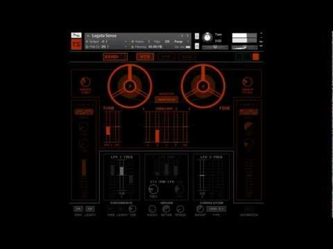 'Tronto' from Tronsonic - Tape Saturated Vintage Analogue Polysynth for Kontakt 5 - YouTube