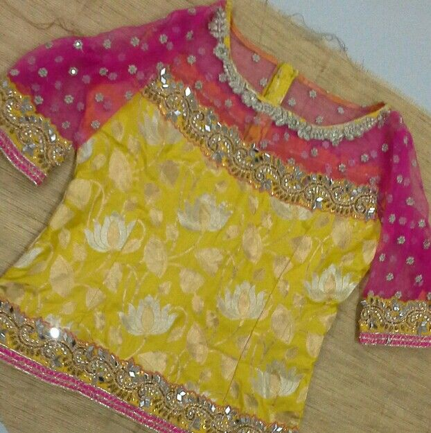Banaras blouse boat neck with mirror aplic work 91 9866583602 whatsapp 7702919644