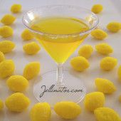 Lemon Drop Jello Shots. OMG i haven't had a lemon drop in ages. I bet these are good!!