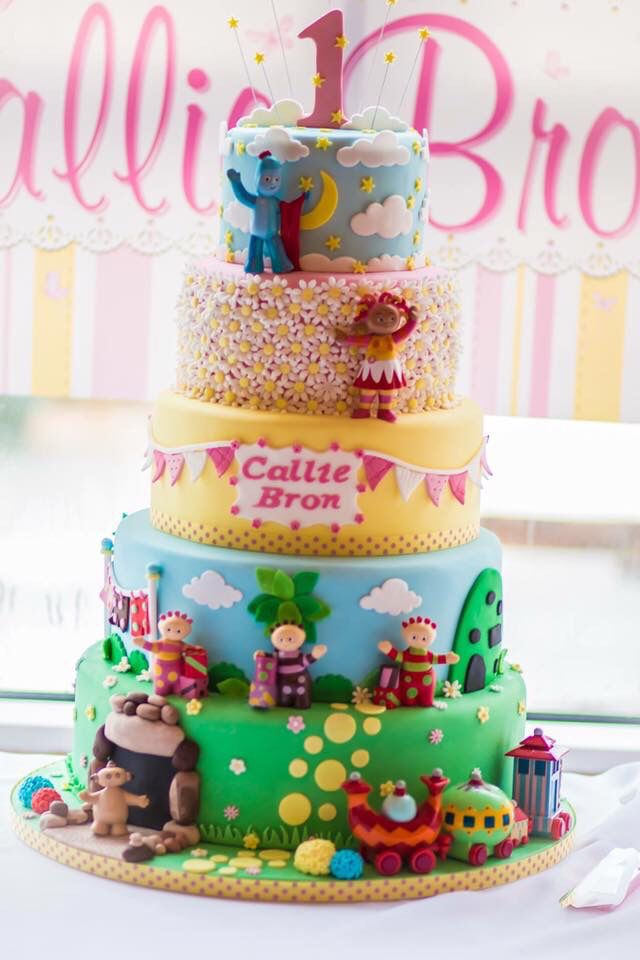 In the Night Garden Cake Cakes Cupcakes Pinterest Night