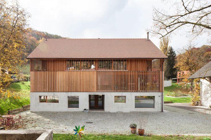 Beck + Oser Architekten, Börje Müller · Conversion of a Mill Barn