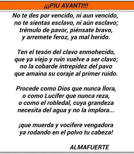 Almafuerte, poeta Argentino