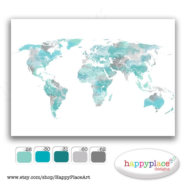 Huge custom world map options printable image by happyplaceart huge custom world map options printable image by happyplaceart 1500 baby 2 pinterest room dorm and wall ideas sciox Images