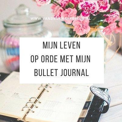 Ik heb een nieuwe liefde. Hij is er altijd voor me en geeft me rust in de dagelijkse drukte. Mijn bullet journal! www.vandruknaargeluk.nl, inspiratie en tips voor (meer dan) moeder die verlangen naar rust en geluk in de drukte.
