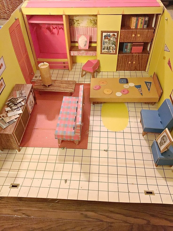 Rare Vintage Barbie Dream House 1962 Mattel With Furniture & Accessories FOR SALE • $104.99 • See Photos! Money Back Guarantee. Very good condition, comes with wall clips. very minor wear due to age. appears to be complete. 6 hangers. see pictures for details contact me for any questions. 201692390575