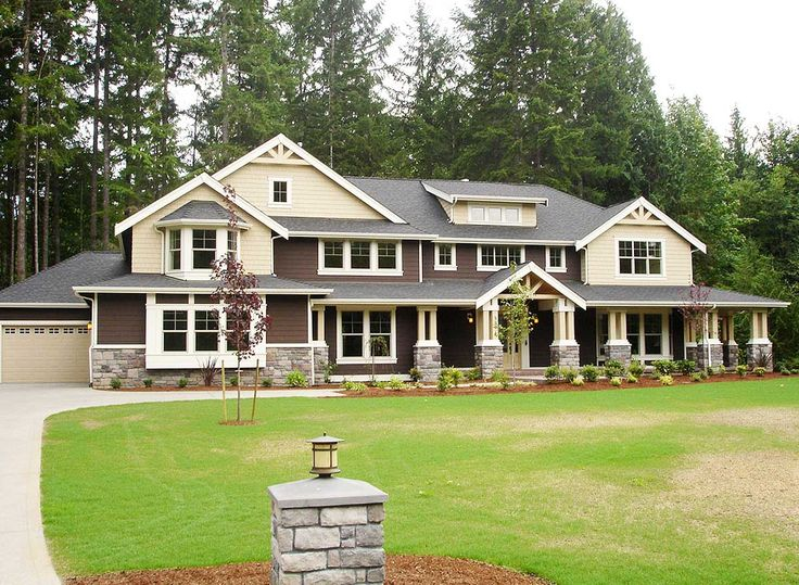 10 best images about home building on pinterest for Luxury craftsman home plans