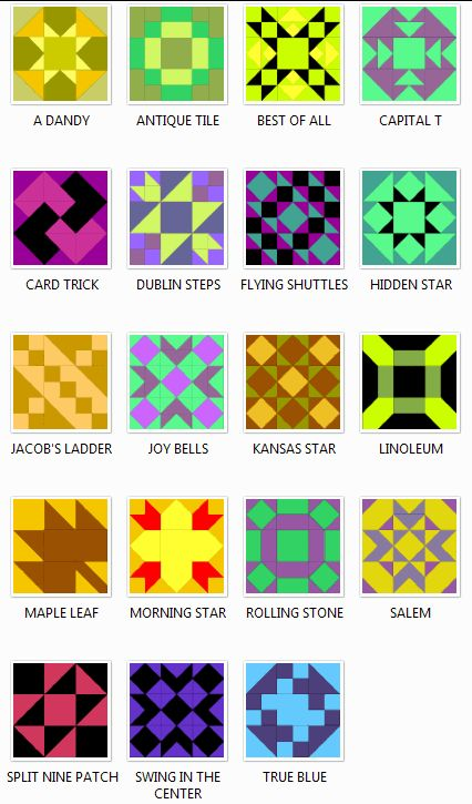 Free Quilt Block Patterns | Click here to purchase for $5.99