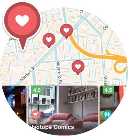 Mobile App | Roadtrippers - Maps Built for Travelers