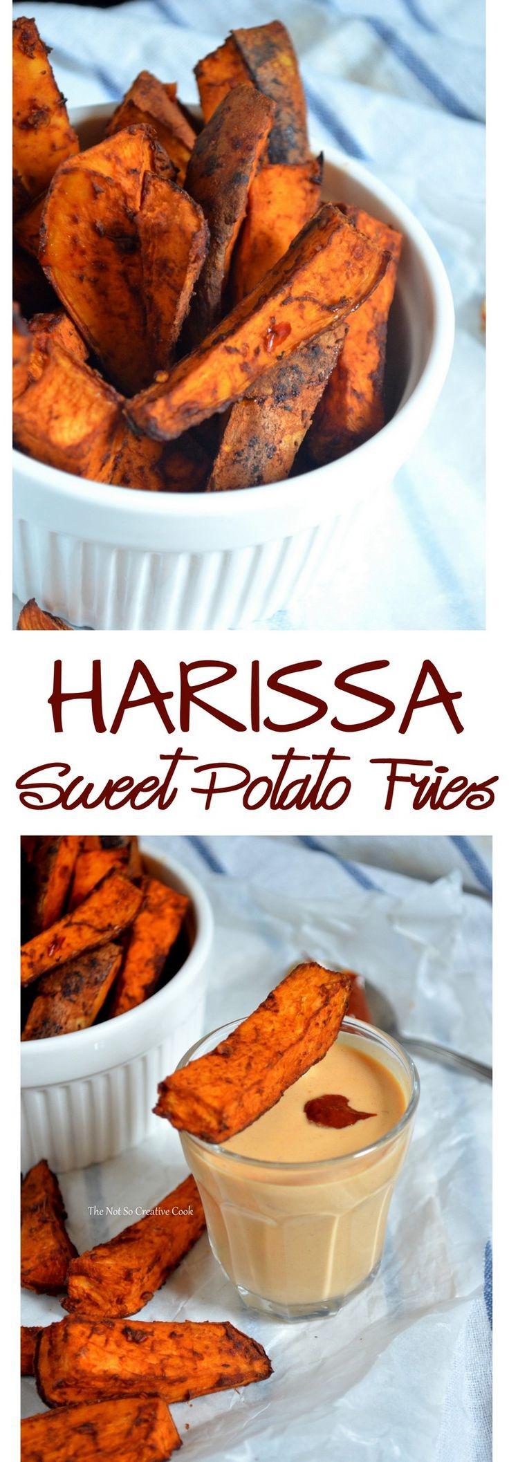 {Whole30} Harissa Sweet Potato Fries – thenotsocreativecook