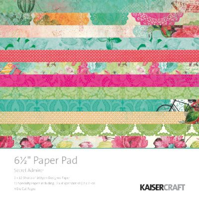 Secret Admirer Paper Pad 6.5