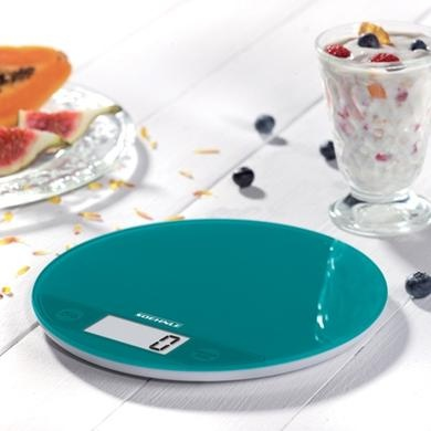 $39.95 Howards Storage World | Soehnle Flip Digital Kitchen Scales - Green (Petrol)