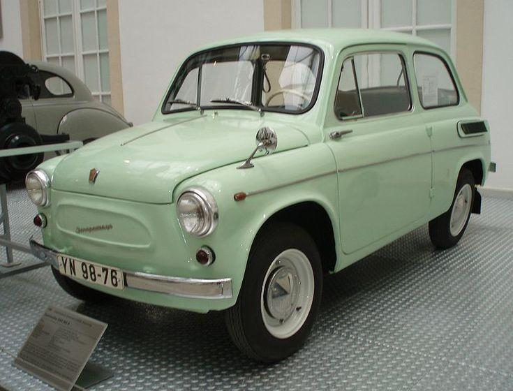 Zaporojnetz, funny Ukrainian car.