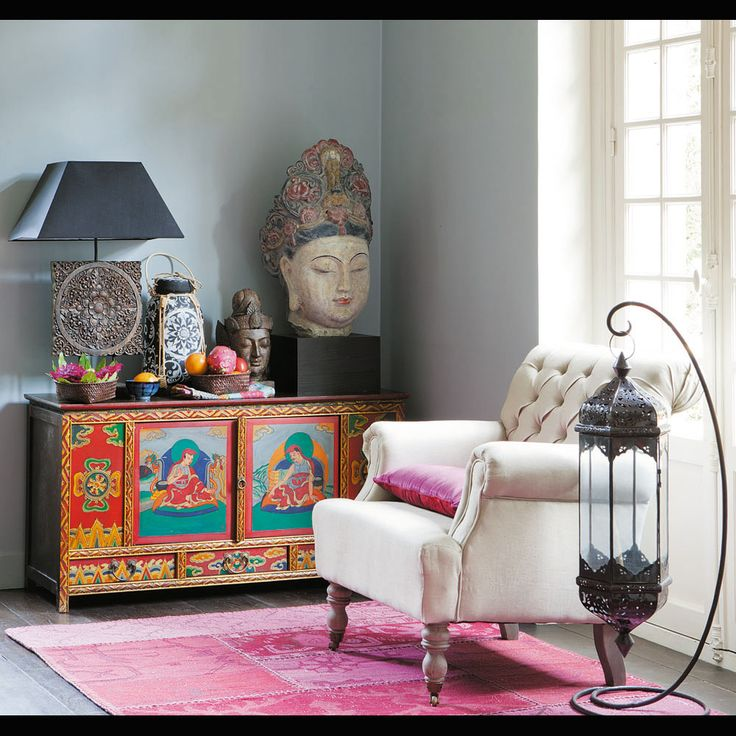 Hand Painted tibetan cabinet    see more cabinets and chiffoniers chests of drawers and cabinets see ...
