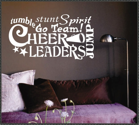 Vinyl Wall Lettering Words Quotes Decals Art by WallsThatTalk, $13.00
