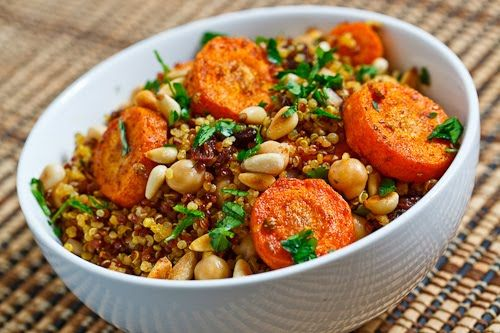 Quinoa With Moroccan Winter Squash And Carrot Stew Recipe — Dishmaps