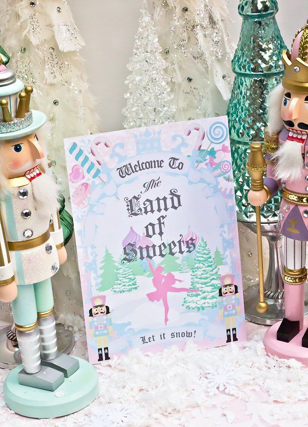 Magical Sugar Plum Fairy Nutcracker Birthday Party | Tutu cakes ...