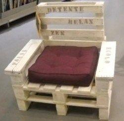 Salons de jardin faits avec des palettes en bois !