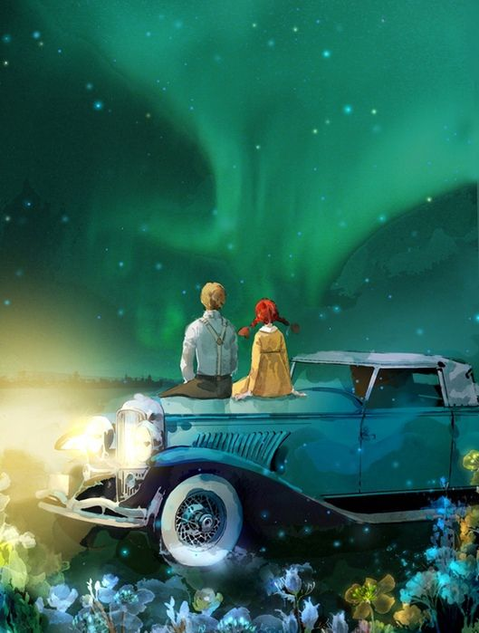 WATCHING NORTHERN LIGHTS with my brother when I was younger sitting on the vehicle .. great memories.
