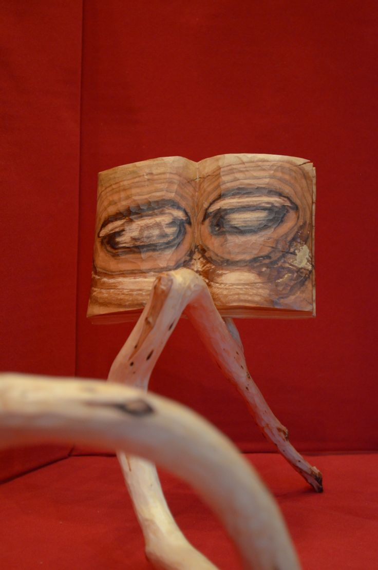 The Reader March 2016 Coniferous wood And Peach tree 5000 x 2100 x 2300 mm woodcarved
