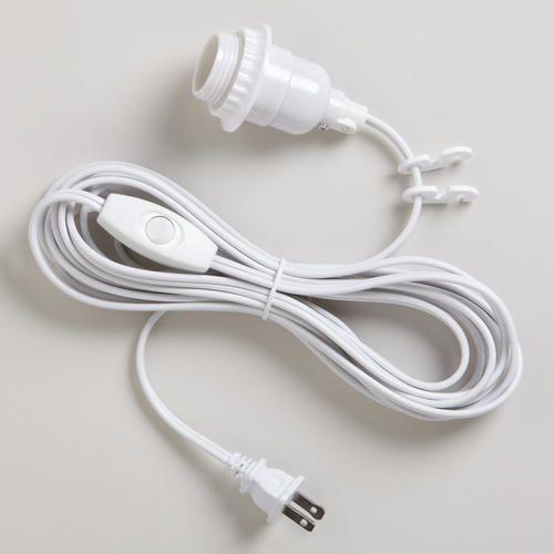 13 best light sockets and cord sets images on pinterest hanging rh pinterest com Swag Light Kit Home Depot swag lamp wiring kit