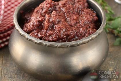 Receita de Patê cremoso de azeitonas em receitas de molhos e cremes, veja essa e outras receitas aqui!