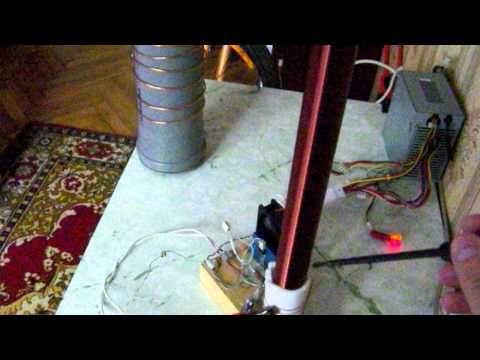 Передача энергии на расстояние способом Никола Тесла
