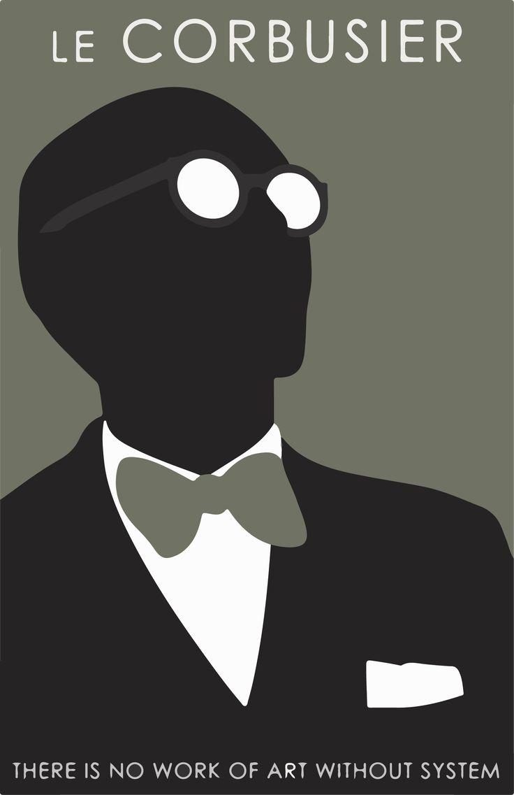 Le Corbusier..AFFICHES  sélection RIGAUX DIDIER