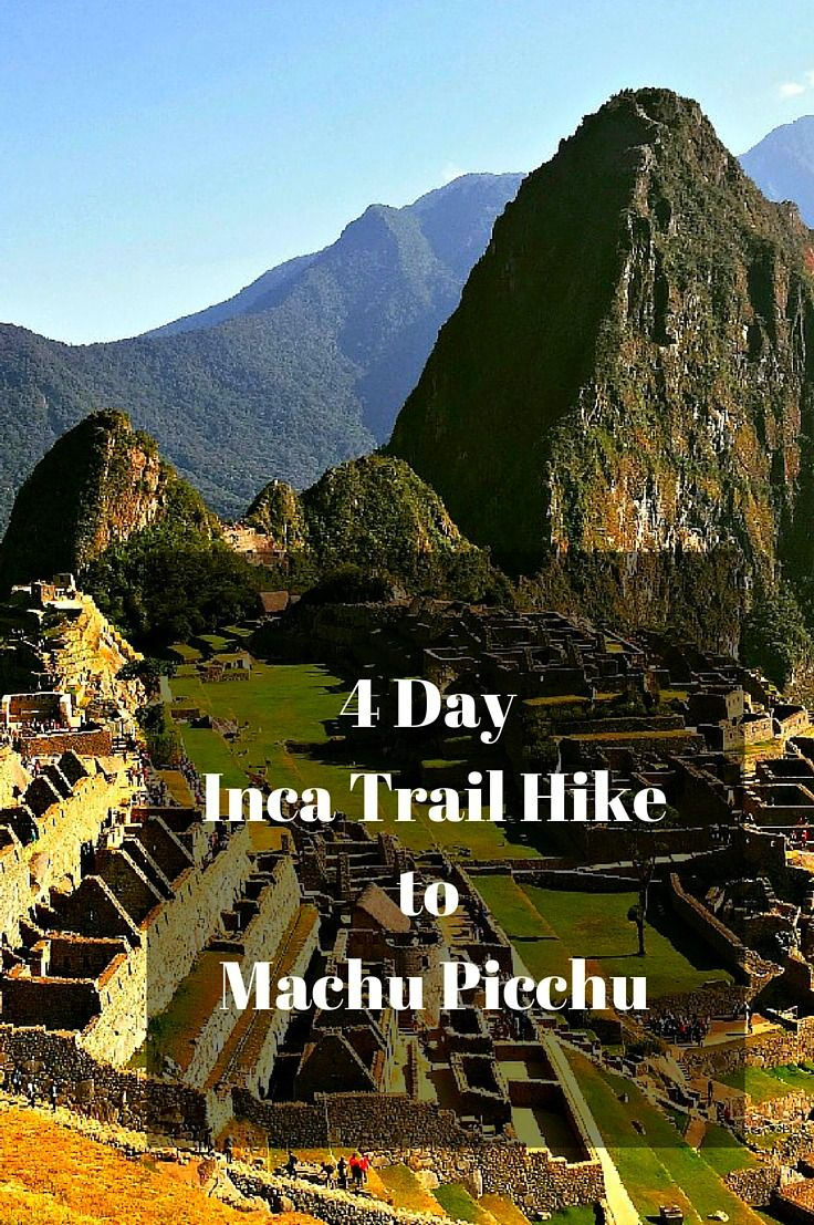 What you should know before hiking the Inca Trail to Machu Picchu. There are many things people don't tell you about the 4 day hike - click to find out more and be prepared! @venturists