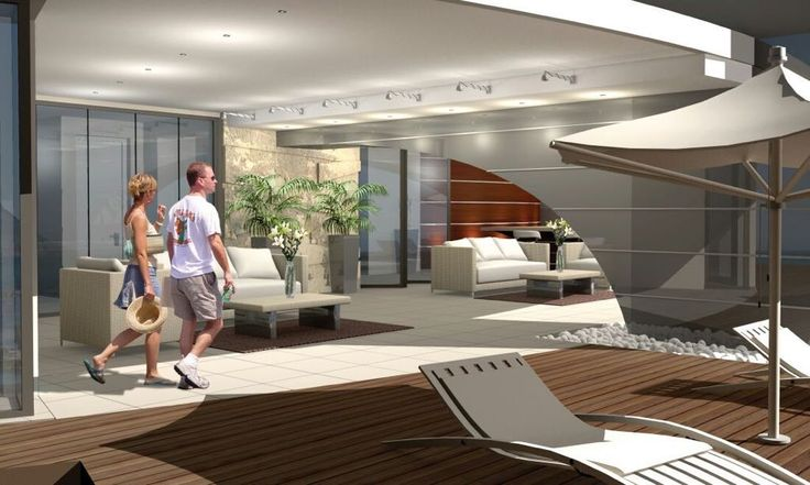 Consep Holdings - Interior Design of the New High-Rise Beach Apartments in Namibia