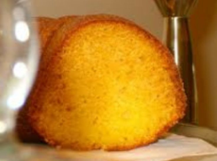 Orange Mini Bundt Cake