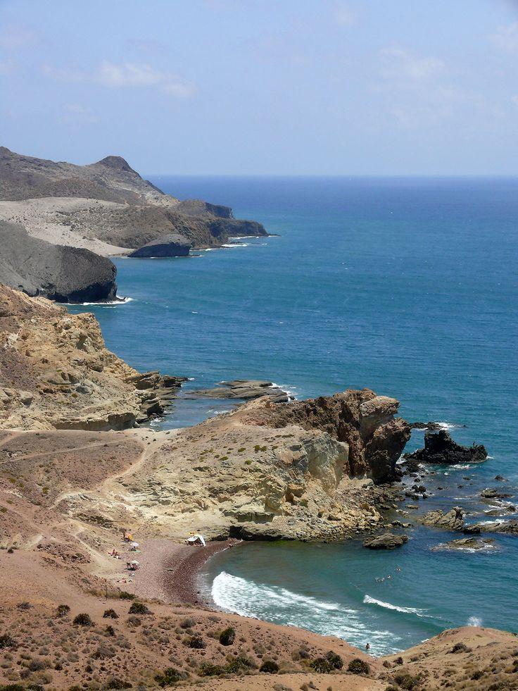 Cala Carbon y Monsul desde Cabo de Gata