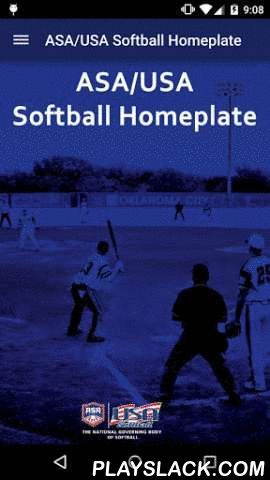 "ASA/USA Softball Homeplate  Android App - playslack.com , As the National Governing Body of Softball in the United States, The Amateur Softball Association of America, ( ASA SOFTBALL, USA SOFTBALL ), produces a softball app, referenced here as the ""ASA/USA Softball Homeplate"" which includes a free ASA Umpire Manual app and the option to purchase the Official Rules of Softball app as an In-App purchase. The Official Rules of Softball app contains 210 pages covering all of the…"