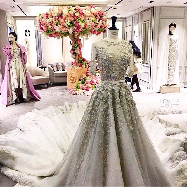 Now that... That is a wedding dress