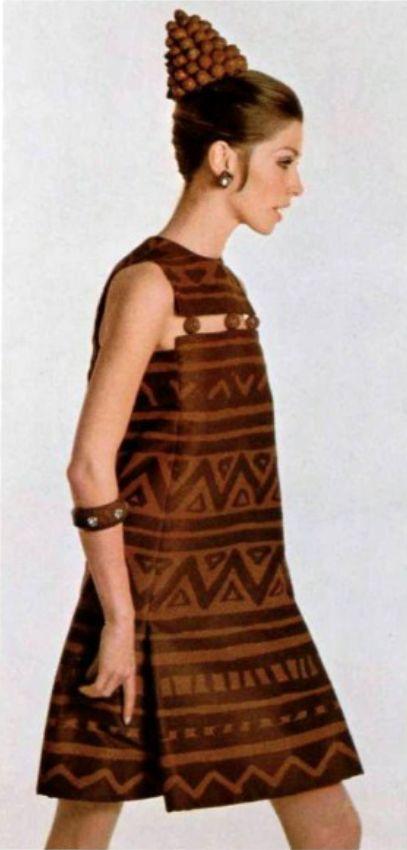 Christian Dior L'Officiel magazine 1967